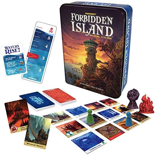 Forbidden Island board game contents