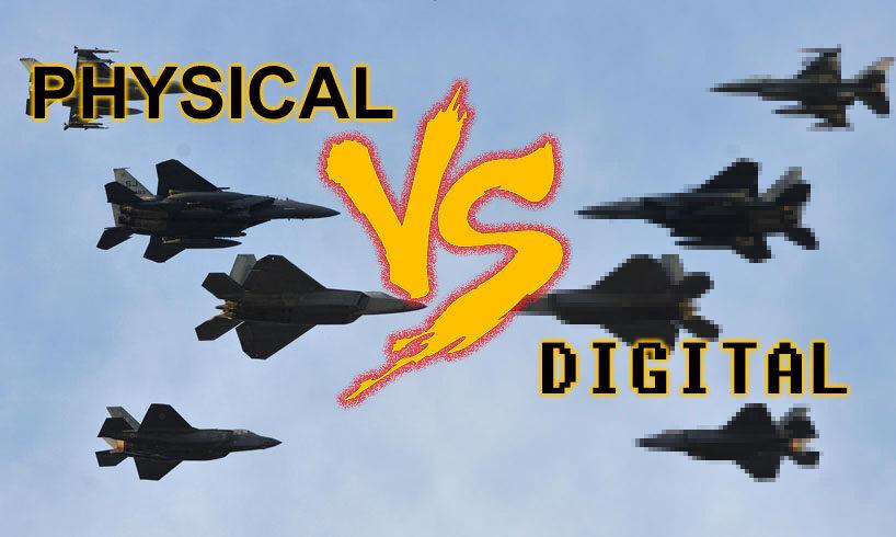 Physical media vs Digital media