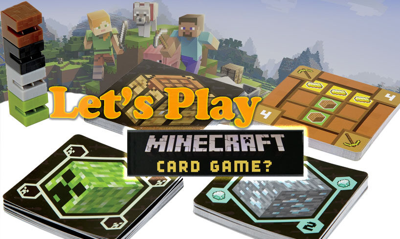 Let's Play Minecraft Card Game?