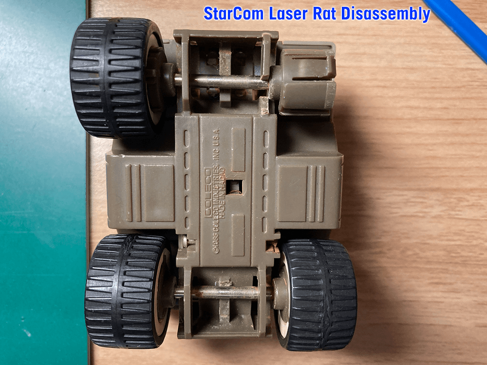 StarCom Laser Rat Disassembly